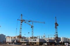 bu construction residential Arkivfoto