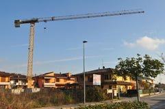 bu construction residential Fotografering för Bildbyråer