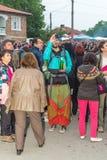 Bułgaria Turysta na Nestenar grach w wiosce Bulgarians Fotografia Stock
