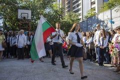 Bułgarscy ucznie Varna fotografia stock