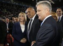 Bułgarskich polityka Prezydencka kampania GERB Obrazy Royalty Free