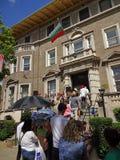 Bułgarskiej ambasady Otwarty dom Obrazy Stock