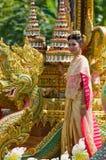 bua节日斥责泰国 库存照片