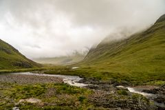 Buachaille Etive Mor in Autumn. Buachaille Etive Mor in the Scottish Highlands, Scotland Royalty Free Stock Photography