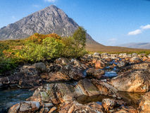 Buachaille Etive Mor in Autumn Stock Photo