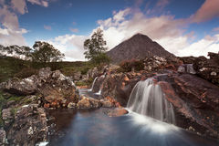 Buachaille Etive Mor II. Majestic mountain in Scottish Highlands , Isle of Skye, Scotland, UK Royalty Free Stock Photography