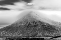 Buachaille Etive Mor long exposure Stock Images