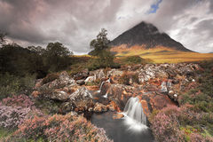 Buachaille Etive Mor. Majestic mountain in Scottish Highlands , Isle of Skye, Scotland, UK Stock Photography