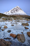 Buachaille Etive Mor Scotland arkivfoto