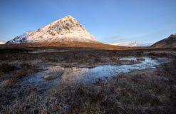 Buachaille Etive Mor Scotland arkivbild