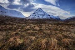 Buachaille Etive Mor Scotland royaltyfria bilder