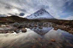 Buachaille Etive Mor Scotland. Near Glencoe in Rannoch Moor Royalty Free Stock Photos