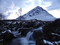 Buachaille Etive mor. A Scottish mountain stock images