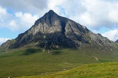 Buachaille Etive Mor at summer time Stock Images