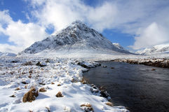 The Buachoille Etive Stock Image