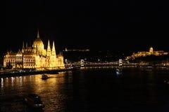 Buapest la nuit Photo libre de droits
