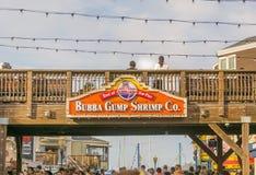 Bubba Gump虾Co 库存照片