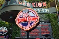 Bubba Gump. Restaurant in Universal Studios in Los Angeles Royalty Free Stock Photos