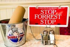 Bubba Gump Garnela Firma Obrazy Royalty Free