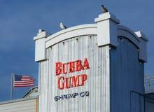 Bubba Gump Restaurant Exterior Stock Image