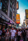 Bubba Gump Restaurant at Times Square, New York Stock Image