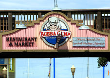 Bubba Gump Shrimp Royalty Free Stock Photo