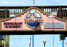 Bubba Gump Shrimp royalty free stock photo