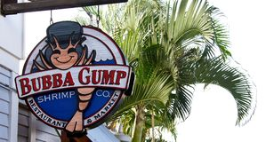 Bubba Gump Shrimp Stock Images