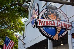 Bubba Gump Shrimp Royalty Free Stock Photos