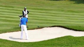 Bubba Watson del jugador de los E.E.U.U. en el campeonato 2015 del golf de Tailandia