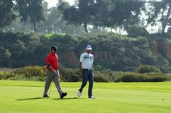 Bubba Watson,JB Holmes 2012 Farmers Insurance Open Stock Photo