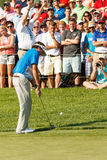 Bubba Watson at the Memorial Tournament Stock Photography