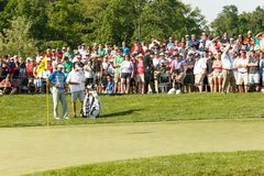 Bubba Watson at the Memorial Tournament Stock Images
