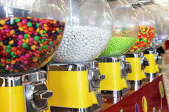 Bubbelgummaskiner fotografering för bildbyråer