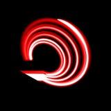 Bubbelpool svart hål, radiella linjer med roterande distorsion Abstrakt spiral, virvelform, beståndsdel Royaltyfri Foto