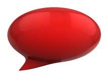 bubbla för anförande 3d Arkivfoto