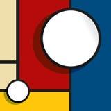 Bubbla för rengöringsdukdesign Royaltyfri Fotografi