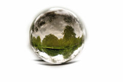 bubbla isolerad natur Arkivfoton