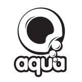 Bubbla logoen Arkivbilder