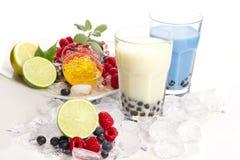 Bubbla tea royaltyfria bilder