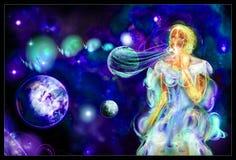 bubblaavstånd Arkivbild
