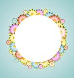 bubblablommamall Arkivfoto