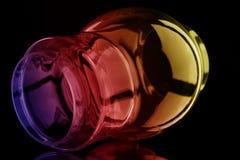 bubblaexponeringsglas arkivbilder