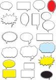 bubblaord vektor illustrationer