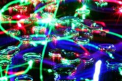 Bubblar bakgrund Arkivfoton