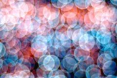 Bubblar bokeh Arkivfoto