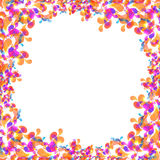 Bubblar garneringbakgrund Royaltyfri Foto