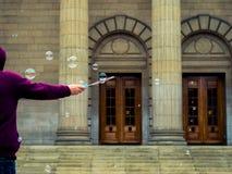 Bubblar i lufta Royaltyfri Fotografi