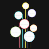 Bubblaregnbåge Arkivfoto