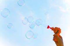 bubblatvål Arkivfoto